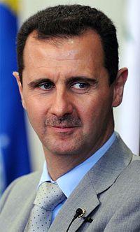 Síria cometeu crimes de guerra  antes e depois da trégua imposta  pela ONU. -Presidente/ditador da  Síria Assad.