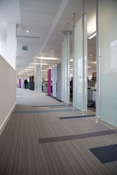 Waters MSHQ - in Manchester, UK #largeoffice #commercialspaces #commercialinteriors #design #flooring