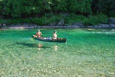 Rivière Bonaventure Gaspésie Qc