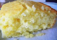"""""""This is the BEST Cornbread EVER!! 2 cups Bisquick 6 Tbsp. cornmeal 1/2 cup sugar 1/2 cup butter 2 eggs 1 cup milk *Mix Bisquick, cornmeal and sugar together. *Melt 1/2 cup butter in microwave. *Add milk and eggs to melted butter. *Stir. *Pour milk mixture into Bisquick mixture. *Stir.  Hubs and I give it a 5!  It's sweet and almost cake-like.  I will never buy Marie Calendar's again."""""""