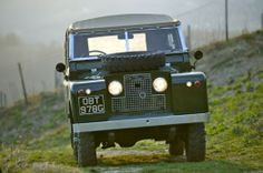 Series IIA Land Rover in Austria - Land Rover Centre