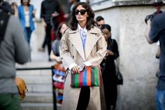 Street fashion: Paris Fashion Week wiosna-lato 2017