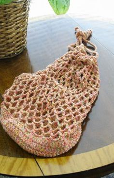 Eco Shopping Bag Crochet Pattern