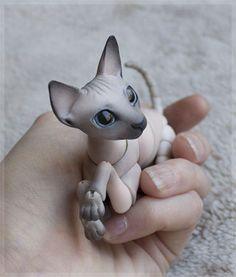 #3DPrinted Cat.   #3DPrinting #Miniature