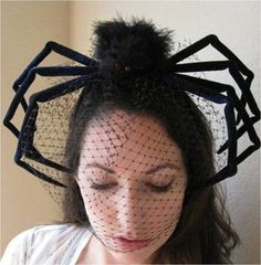 funky spider headpiece