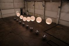 Thought Bubble: Interactive giant levitating spheres. - FAD Magazine