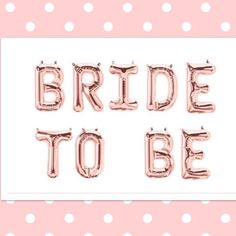 Calling all hen party planners. Our new #bridetobe #rosegold banners are now in our shop. #henparty #bachelorette party