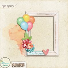 kimeric kreations: It was a beautiful day - and a happy frame cluster to share
