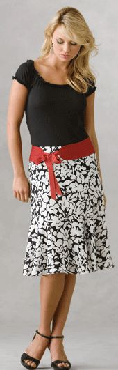 Make your own skirt pattern from your own measurements.