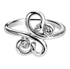 Gabriel & Co.-Voted #1 Most Preferred Fine Jewelry and Bridal Brand- floral silver ring