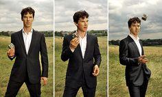 I love my men like I love my tea.... Hot & British #Sherlock #BenedictCumberbatch <3