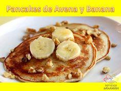 Lunes con Pancakes de Avena y Banana
