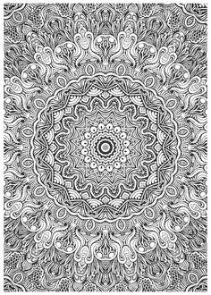 Mandala COLORING PAGES Pinterest Ausmalbilder