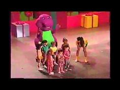 barney the backyard gang barney in concert kids videos