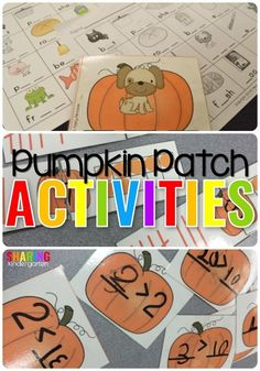 Pumpkin Patch Activi