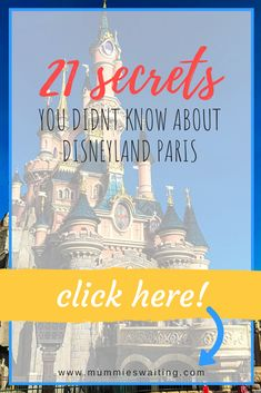 Whether you have been to Disneyland Paris once of fifty times, there is sure to be something you've missed. Disney puts extra magic into everything, so when you see those decorations on mainstream, they might… Disney Fun Facts, Disney Tips, Disney Parks, Walt Disney, Disney World Florida, Disney World Resorts, Disney Vacations, Disney Halloween, Disney Christmas