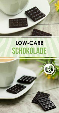 Schokolade schmeckt auch low-carb. Das zeigt das Rezept auf meiner Seite. Mit nur wenigen Zutaten zum Genuss.