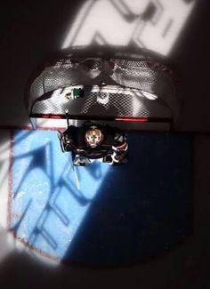Aerial view of the Ducks Frederik Andersen.