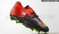 new arrival d9ec1 d1462 Leo Messi is set to wear the new Black   Solar Red   Green Adidas Messi  Cleats from late November