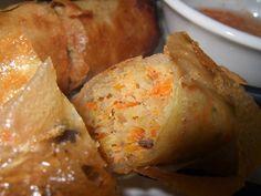 Mui Ngo Gai Restaurant: Chả giò  Crispy spring rolls