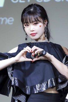 190315 - Mwave meet&greet mini album 'I_made' Kpop Girl Groups, Korean Girl Groups, Kpop Girls, Extended Play, K Pop, You Make Me Crazy, Mode Grunge, Soo Jin, Fandom