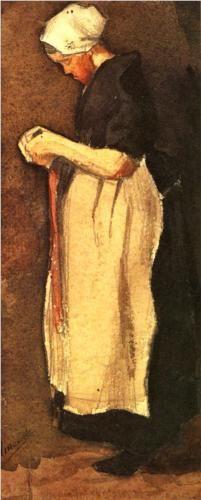 Scheveningen Woman - Vincent van Gogh