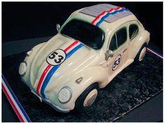 Herbie cake made using special cake pan