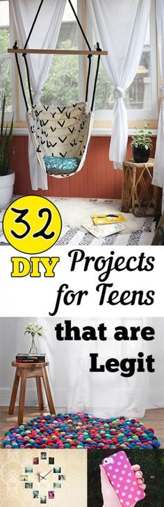 DIY projects, projects for teens, cool teenage craft projects, craft projects, popular pin, crafting, craft projects, DIY everything, DIY.                                                                                                                                                                                 More