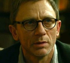Daniel Craig as Mikael Blomkvist from The Girl with the Dragon Tattoo