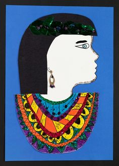 Explore the rich visual culture of ancient Egypt! Create a captivating multimedia portrait in historic Egyptian style.
