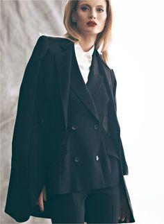 Michelle Buswell Poses for Koray Birand in Harpers Bazaar Turkeys November 2012 Cover Shoot