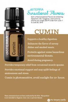 doTERRA Cumin Summer Sunsational Essential Oil