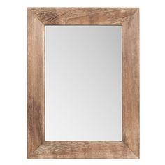 Espejo blanco faustine 60 e muebles para el piso for Mirror 45 x 60