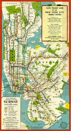43 Best NY Subway images | New york subway, Vintage new york, New ...