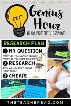 Genius Hour in the Primary Classroom