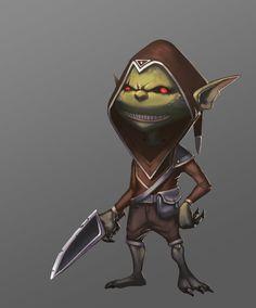 ArtStation - Goblin Rogue, Anton Divnich