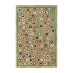 Found it at AllModern - Hooked Green Area Rug