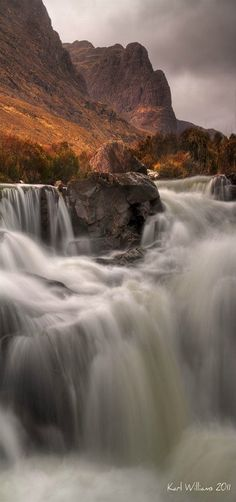 Russell Burn Falls | Russell Burn, Applecross, NW Highlands | Scotland | by Karl Williams