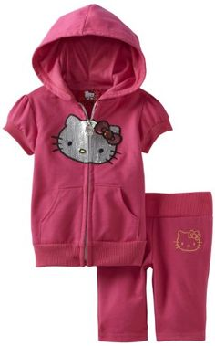 Baby Girl Clothes -  Pin it :-) Follow us :-)) Zbabybaby.com is your baby product Gallery ;) CLICK IMAGE TWICE for Pricing and Info :) SEE A LARGER SELECTION of  baby girl  clothes  at  http://zbabybaby.com/category/baby-categories/baby-clothing-and-accessories/baby-girl-clothes/ -  baby, baby shower, baby gift idea, infant , nursery , kids, toddler  -  Hello Kitty Baby-girls Infant Short Sleeve Zip Up Top, Fuchsia Pink, 24 Months « zBabyBaby.com