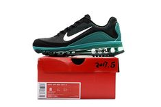 new style 91a3a 1ecbf We Are Your Right Choice to get Top Brand Nike Air Max Sport Running Shoes  Men Black Green Sale Hot
