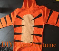 Happy halloween diy costume style sisters marie blog pinterest how to make in expensive tiger costume solutioingenieria Images