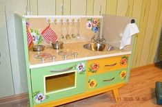 Toy Chest, Storage Chest, Kids Room, Cabinet, Wall, Furniture, Home Decor, Doll Houses, Handmade