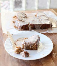Glazed Mexican Vanilla Cake