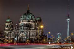 Berlin - Berliner Dom, Alexanderplatz, Berliner Fernsehturm (Berlin dome cathedral, Alexanderplatz, television tower)