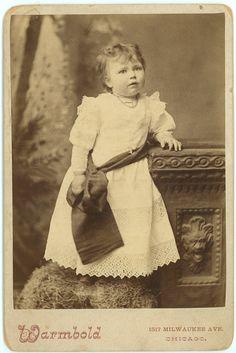 Adorable Victorian Toddler Girl