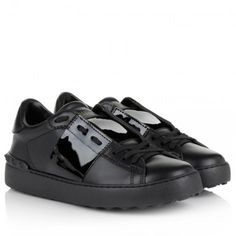 Valentino Sneakers – Open Sneaker Black – in schwarz – Sneakers für Damen