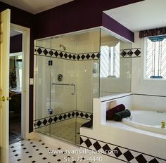 Bathroom Inspiration Using Gl Shower Enclosures Designed And Installed By Ryan S All In Cincinnati