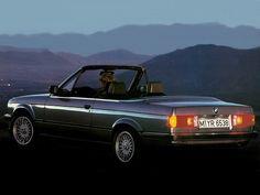 BMW 320i Cabrio (1986 – 1993). Das ist der reine Männertraum...... Ich bleib da lieber der Beifahrer.