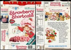Oh what I would do for some Strawberry Shortcake cereal today!  My all time fave as a little girl!