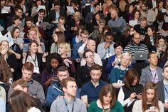 YMS audience enjoying a variety of speakers